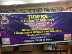Tiger Seminar, Photo Credits: Dr Sudip