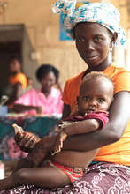 Mother and Child at Masongbo Health Center