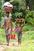 Daily Life in Levuma, Sierra Leone