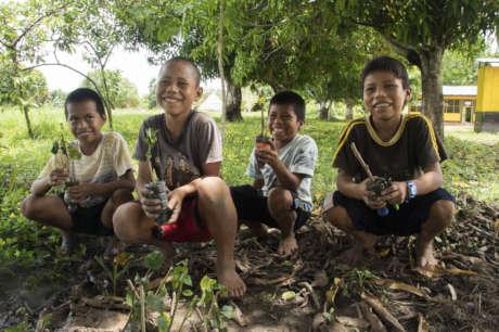 Sponsor Shipibo Youth Permaculture Training