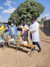 food distribution to families
