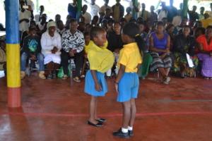 pre school learners acting