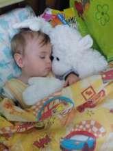 Kiril now sleeps in his own bed
