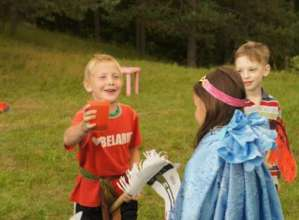 Maxim and Lera on summer camp with us in 2012