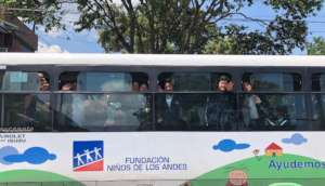 Our new bus, thank you GlobalGiving!