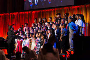 Choir students sing with heart and soul!