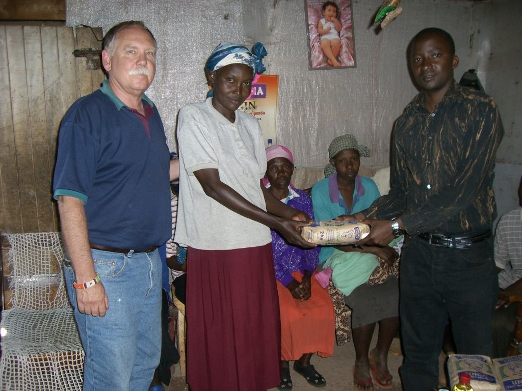 Christmas Gift to Families Affected by HIV/Aids