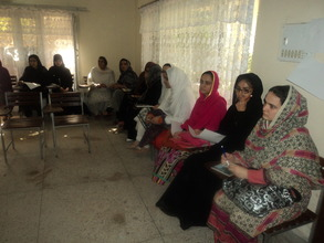 Women in a Leadership Workshop