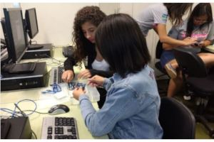 Young Girls Receive Training