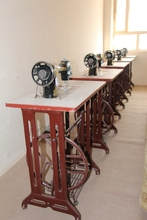 New Sewing Machines on the Tables