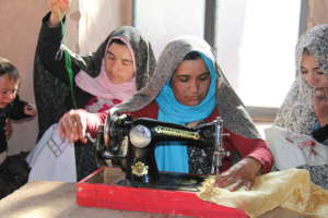 Tailoring: A Small Business Skill for Afghan Women