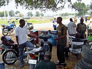 Create 5 jobs with the AH Motorcycle Repair Shop