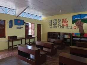 Renovation of the classroom