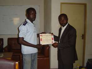 Muhammed's Graduation from LI business classes