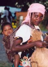 Mother and Baby in Tanzania