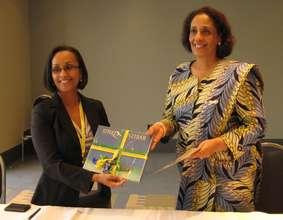 First Lady Karume and VSI's Dr. Ndola Prata