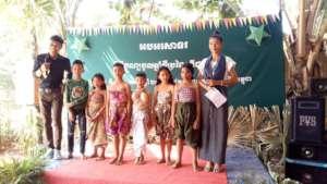 Talent show of kids