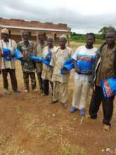 Community Health Workers Distribute Mosquito Nets