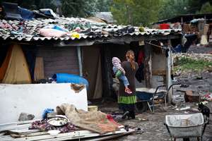 Slum in Belgrade