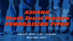 ASHOKA Youth Social Venture FUNDRAISING PITCH