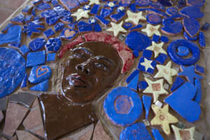 Harriet Tubman mosaic