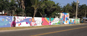 Mural that captures the essence of Mariposa