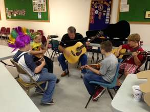 Music Makring in Clay, WV