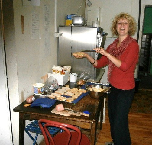 Depaul Slovakia: Breakfast for the Homeless