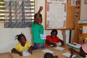Proud winner of Word BINGO at Sara Village Library