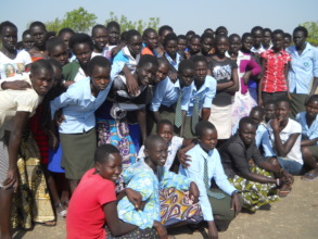 High school girls supported by PESS