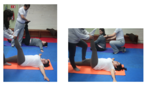 Diagnosis of hip in yoga class