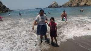 Beach trip in Peru