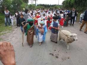 Nativity in Ecuador