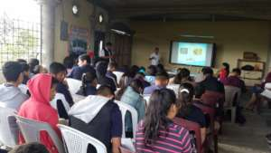 Covid 19 training in Honduras