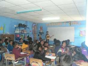 Teaching in Guatemala