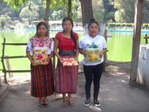 High School Graduates: Flory, Clara, and Juana