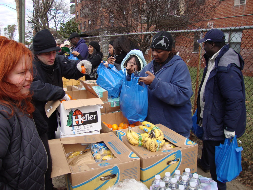 """NYC's First-In Food Team Behind Hyperstorm """"Sandy"""""""