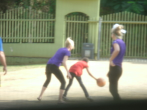LEARNING HOW TO PLAY BASKETBALL