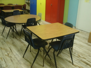 TUTORIAL AND THERAPY AREA-WITH NEW FLOOR