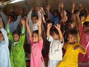Raise your hands for education!