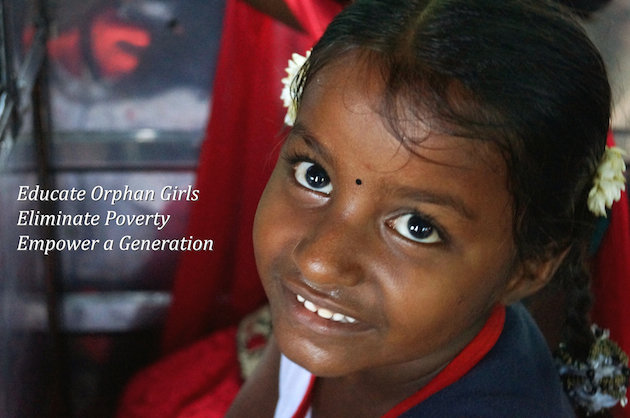 Educate 100 orphan girls in rural India