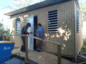 Participants new home