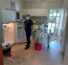 Housekeeper at elderly home