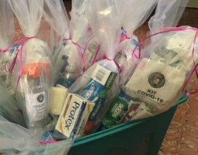 Soap, tooth paste kits