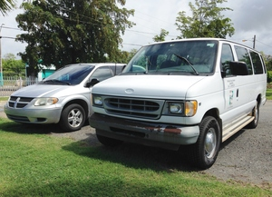 Our official vehicles