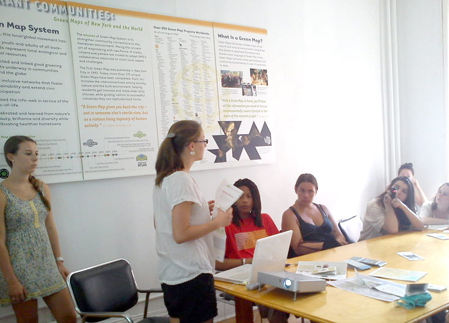 Green Interns: Mapmaking for Resilient Communities