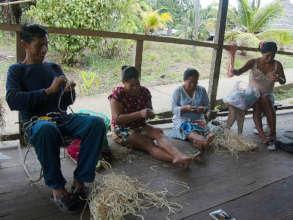 Artisans at teacher workshop