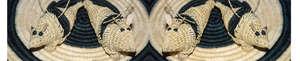 Woven armadillo ornaments. Photo: C. Plowden/CACE