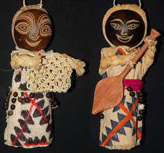 Huitoto doll ornaments. Plowden/CACE