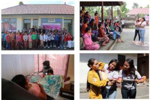 Mobile clinic  at Bangli in Sekardadi village